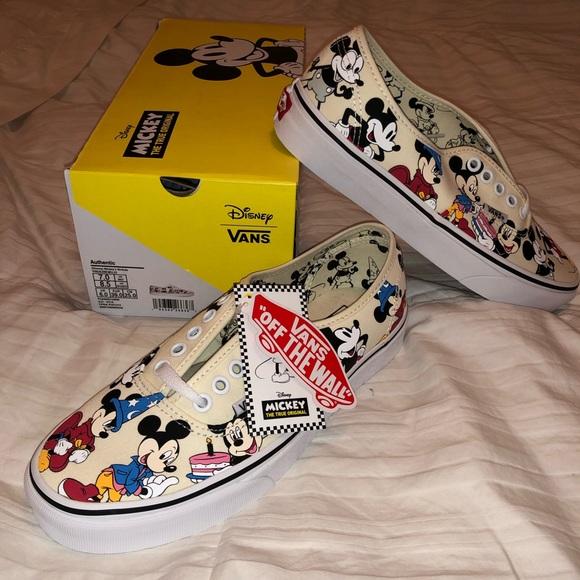 Vans Disney X Vans Authentic Mickey